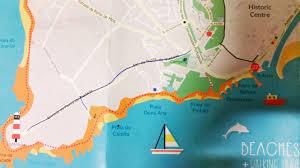 World Map Lagos by Secret Beaches In Lagos