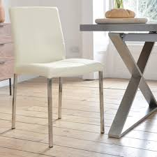 Modern Dining Chairs Leather Chairs Astounding White Leather Dining Chairs Leather Dining