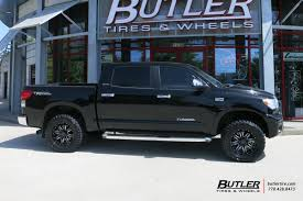 toyota tundra with 20in black rhino sierra wheels exclusively from