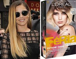 preference wild ombre on short hair cheryl s new hair was a diy dye color kit ombre and makeup