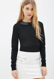 forever 21 pan collar sweater you ve been added to the