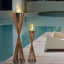 Ethanol Fire Pit by Bio Ethanol Fire Column Outdoor Fireplaces U0026 Fire Pits You U0027ll Love
