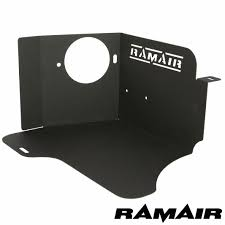 ramair heat shield intake induction kit cone air filter for seat