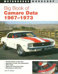 1967 to 1973 camaros for big book of camaro data 1967 1973 motorbooks workshop r