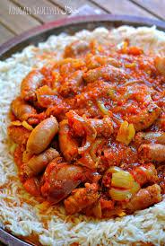 cuisiner des saucisses rougail saucisses ح لال la réunion dans ton assiette the