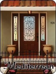 Front Entryway Doors Wrought Iron Front Entry Glass Doors The Glass Door Store Tampa