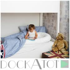 Mayfair Convertible Crib by Dockatot Helps Ease The Transition From Crib To Bed By Acting Like