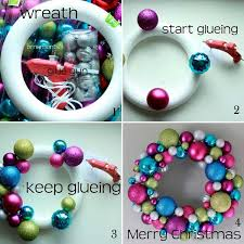 how to make wreath with ornaments rainforest islands ferry