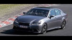 spied new lexus gs f new 600hp lexus gsf in full action at ring youtube