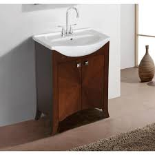 Porcelain Bathroom Vanity 23 25 In Porcelain Bathroom Vanities Bath The Home Depot