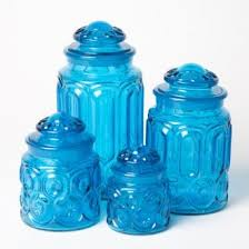 vintage glass canisters kitchen 41 best kitchen canisters images on kitchen canisters