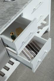adorna inch double sink bathroom vanity set white finish design element decc london double vanity