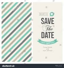 Wedding Invitation Card Design Template Wedding Invitation Card Editable Background Chevron Stock Vector