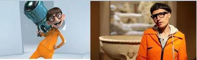 Despicable Meme - so this furniture designer looks identical to vector from