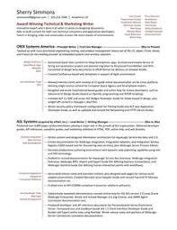technical writer functional resume sample http www