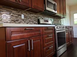 buy country cherry maple ready to assemble kitchen cabinets at