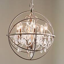 portfolio opula 4 light brushed nickel chandelier brushed nickel