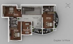 luxury duplex floor plans ordinary luxury house plan 3 3d duplex 1st floor topjpg celebrate