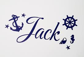 compare prices on pirat wall stickers online shopping buy low personalised name vinyl decal wall stickers nursery nautical anchor ships wheel pirate