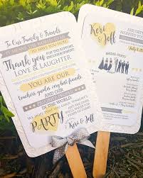 wedding ceremony fans custom wedding ceremony programs cordial punch press