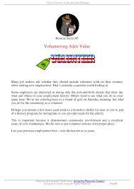 Where To Put Volunteer Work On A Resume Top 10 Secrets Of An Amazing Resume 13 728 Jpg Cb U003d1320141606