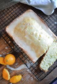 classic pound cake recipe with easy orange glaze