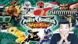 akhirnya nemu game power rangers wild force