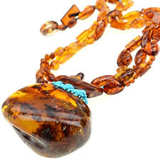 amber stone necklace images Magnificent baltic amber stone necklace with sleeping beauty jpg