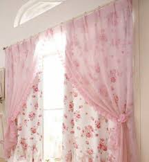 curtains for livingroom floral and pink french country curtains for living room beautify