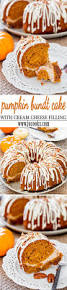 pumpkin bundt cake with cream cheese filling jo cooks