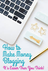 Ideas To Make Money From Home How To Make Money Blogging Oh My Creative