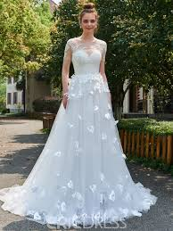 floral wedding dress bridalblissonline com