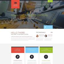 radio website template eliolera com