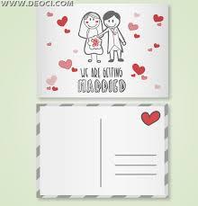 wedding invitation card design template romantic cartoon wedding invitation card design template deoci com