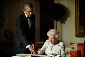 queen elizabeth and u s presidents photos abc news
