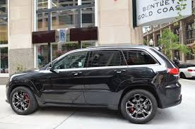 gold jeep cherokee 2014 jeep grand cherokee srt stock m455a for sale near chicago