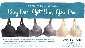 Vanity Fair Essay Vanity Fair Launches Buy One Get One Give One Event