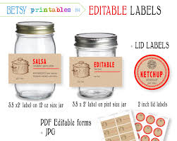 free sticker label templates digital canning labels labels for canning mason jar lid zoom
