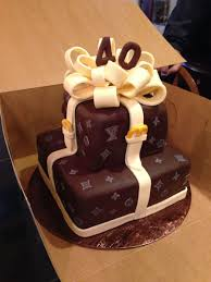 Louis Vuitton Cake Decorations Louis Vuitton Inspired Cake Cakecentral Com