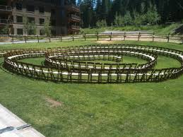 spiral wedding ceremony idea u2013 circular thedjservice com