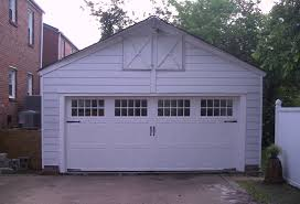 home fitz and sons garage doors before after two car garage door after