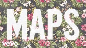 maps ta maroon 5 maps audio