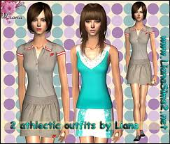 Liana Sims 2 Preview Women S Clothing Swimwear Liana Sims2 Clothes For Your Sims Free Downloads To Fashion Up