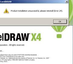 corel draw x4 error reading file how to fix error 24 coreldraw x4 solved dallcrownpc