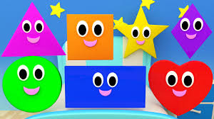 shapes songs nursery rhymes for kids and children learn shapes