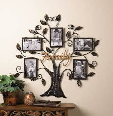 brilliant design family tree picture frame wall hanging