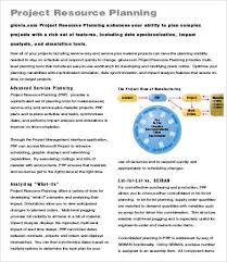 project planning template 9 free sample example format free