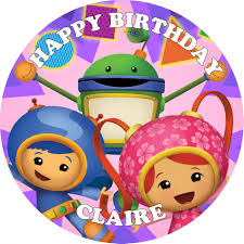 team umizoomi cake topper team umizoomi edible cake topper