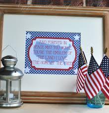 Wave In Flag Lyrics Star Surprise Patriotic Bundt Cake Major Hoff Takes A Wife