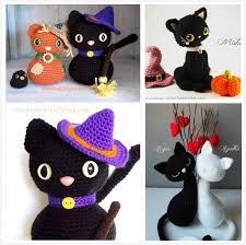 amigurumi witch pattern crochet amigurumi halloween black cat patterns free beesdiy com
